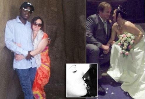 British mother of 9 ditches partner of 23 years and their children for a new life with her African lover she met on Facebook (Photos)