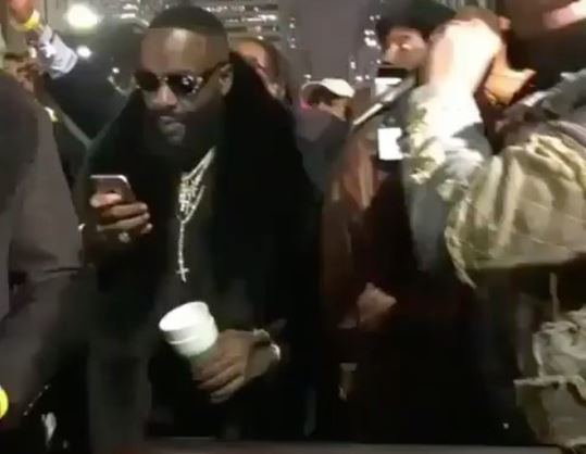 Videos of Rick Ross, Julius Erving, Eagles Players & others at Free Meek Mill Rally in Philadelphia (Videos)