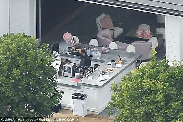 Pregnant Kylie Jenner throws her own baby shower... and it