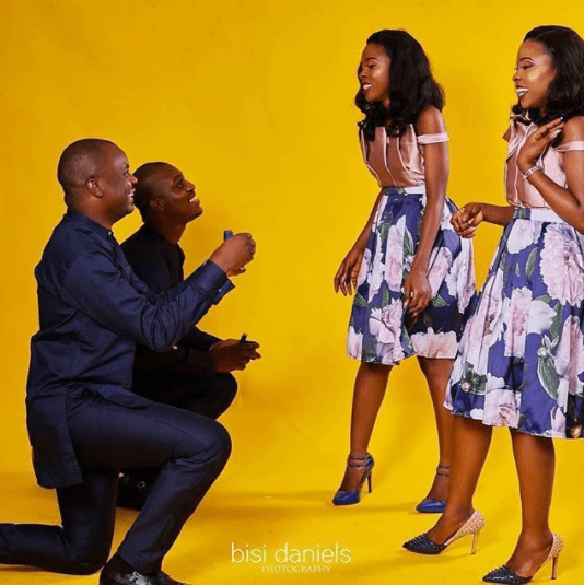 Aww! Twin sisters set to wed the same day. See their beautiful pre-wedding photos