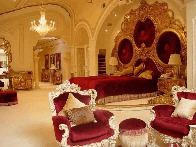 See inside Robert Mugabe?s 25 bedroom mansion where he is now being held prisoner (photos)