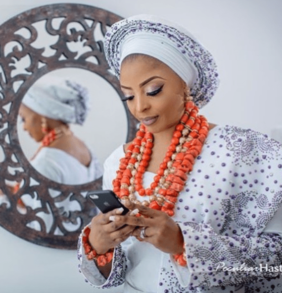 #ON2017: First photos Oritisefemi and Nabila Fash on their wedding day