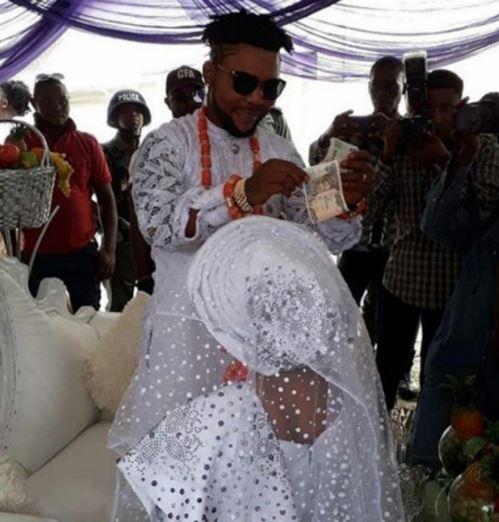 Oritsefemi and Nabila wedding