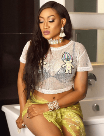 Oge Okoye flaunts her curves in sheer outfit (photos)