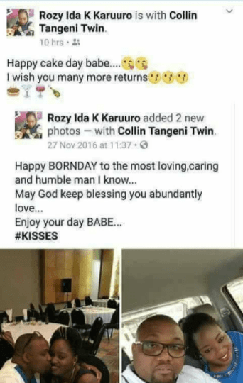 "The boy is mine! 4 different women wish their ""bae""  a happy birthday and it"