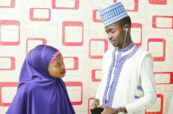 Viral pre-wedding photos of young Hausa couple