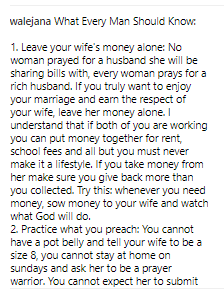 5a2446c226d71 - 'Leave your wife's money alone. No woman prayed for a husband she will be sharing bills with' - Nigerian Man advices his fellow men