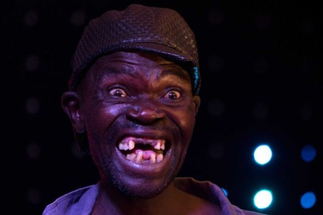 Mr. Ugly contest: 43-year-old wins his fourth title for being the ugliest man in Zimbabwe (See Photos)