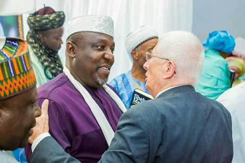 Caption this photo...between Governor Okorocha and a foreign diplomat