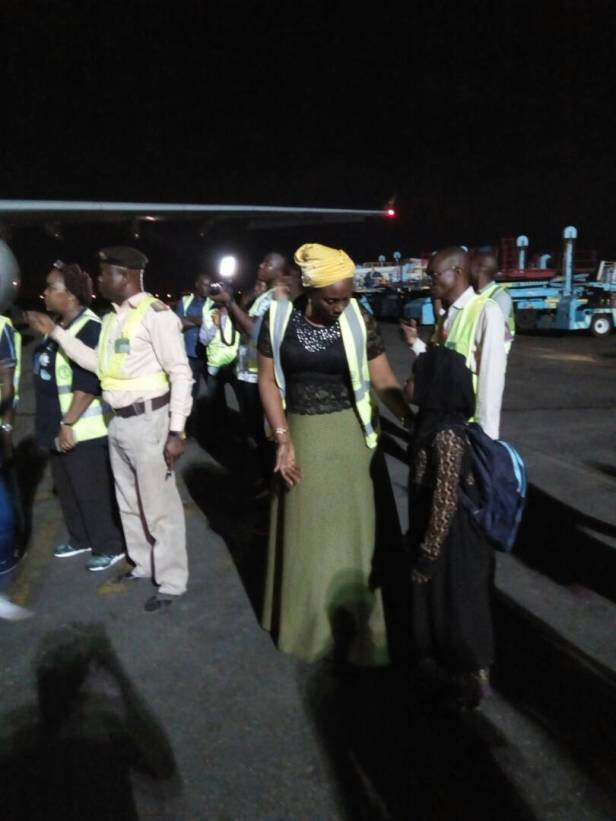 Photos: 401 Nigerians Return From Libya