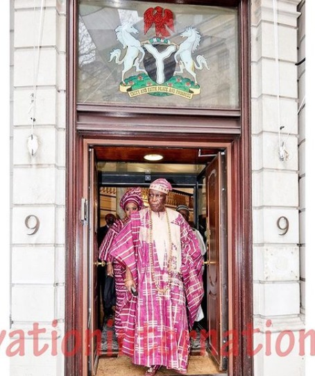 Photos: The Queen of England and Nigeria