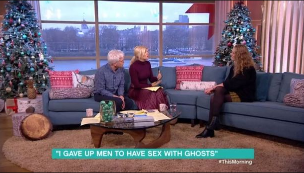 Woman who had sex with 15 ghosts believes she will get pregnant with a spirit
