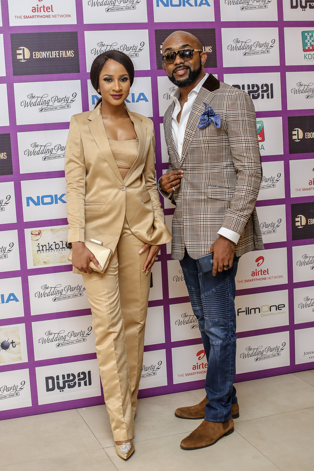 Photos: Mo Abudu, Banky W, Adesua, Eyinna, Ikechukwu, Frank Donga, AY, Ireti Doyle, EmmaOhMyGod attend the exclusive partner screening of