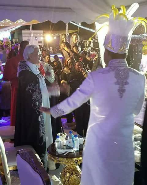 Photos from Pastor Chris Oyakhilome costume birthday party
