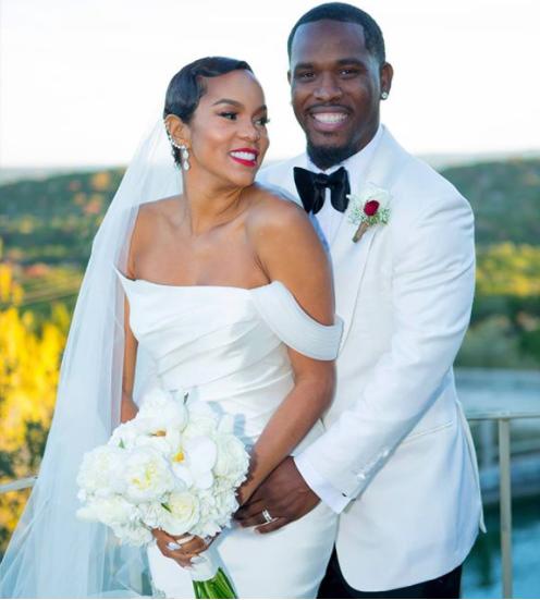 Letoya Luckett is married! See lovely wedding photos