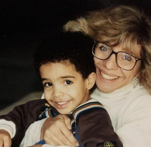 Drake shares cute childhood photos with his mum, Sandi Graham