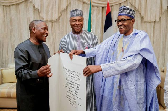 More photos from President Buhari