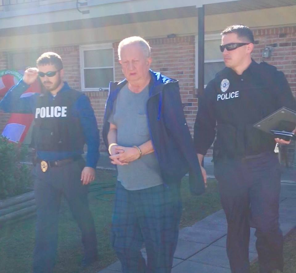 Louisiana police arrest 67-year-old white man who claimed to be a