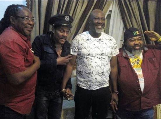 Ras Kimono, Majek Fashek and Oritz Wiliki arrive Kogi State for Dino Melaye