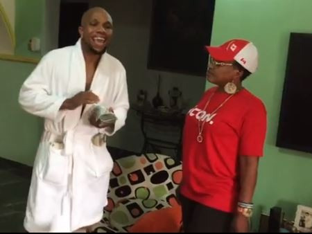 Video: Charles Okocha and his mum giving us the