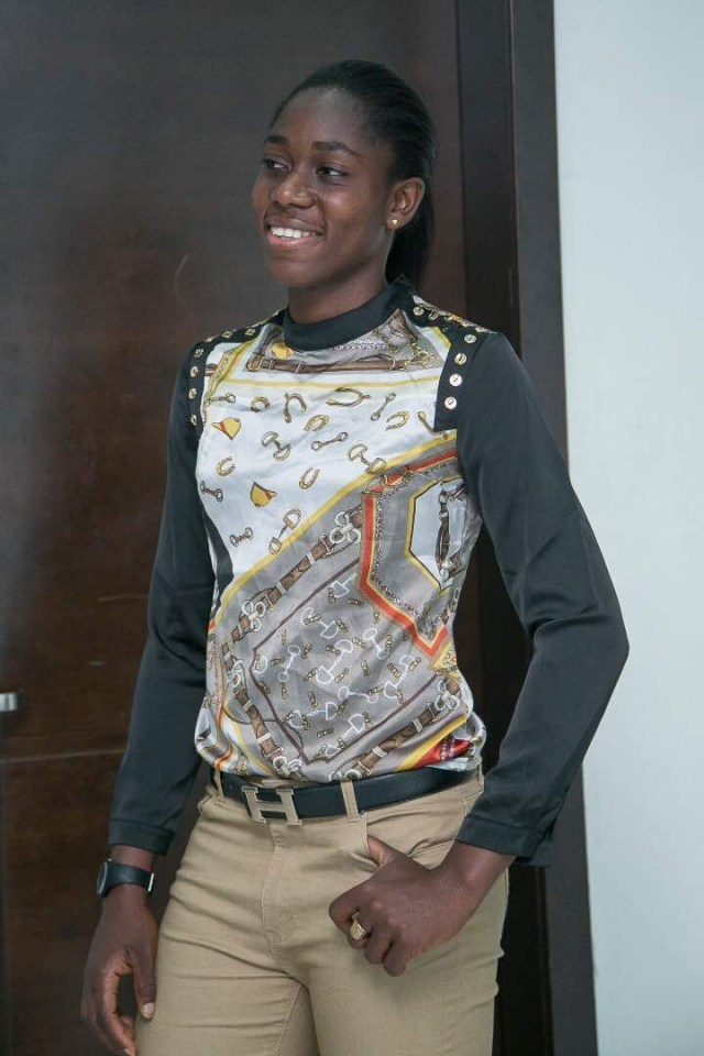 Female African Footballer of the year, Asisat Oshoala shares cool new photos