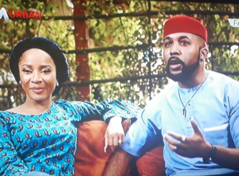 Banky W and Adesua Wellington tell their amazing love story. Banky actually slid into Adesua