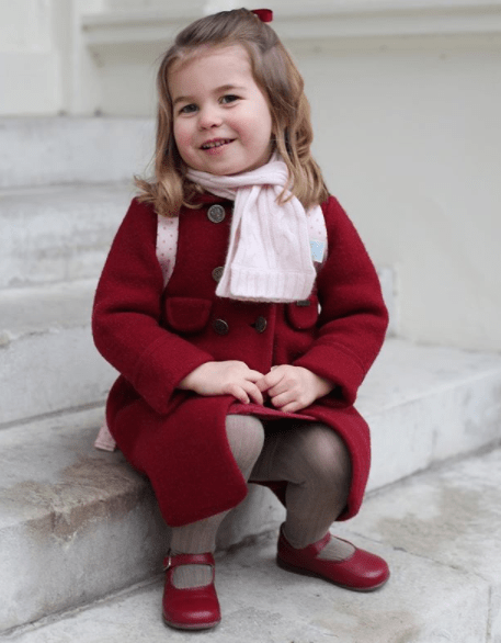 Aww... Kensington Palace shares adorable photos of Princess Charlotte taken before she left for her first day of school