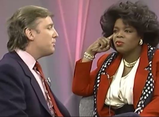 Video: Throwback to 1999 when Donald Trump said his first choice for a running mate would be Oprah Winfrey