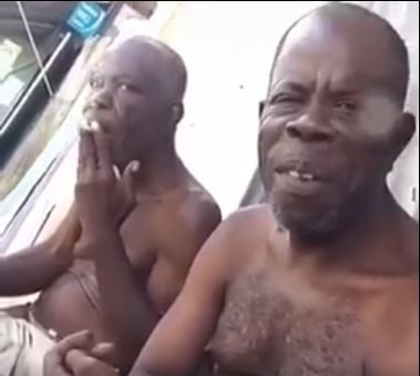 Hilarious video of Jamaican grandpas smoking weed (Watch)