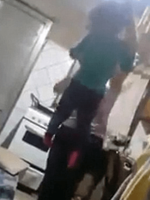 Horrific footage shows Mother viciously beating her 3yr old daughter after accusing her of stealing a tablet