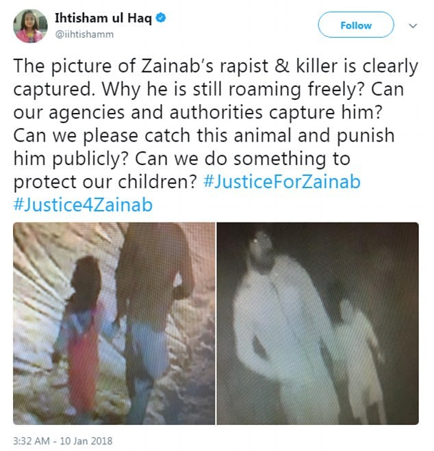 8yr old girl abducted, brutally raped and murdered in Pakistan.. Body found in garbage pile (photos of last chilling moments of the girl with her abductor)