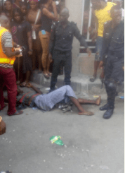 5a5ac9ba092eb - Hawker falls off the bridge after he is hit by a commercial bus in Lagos (photos)