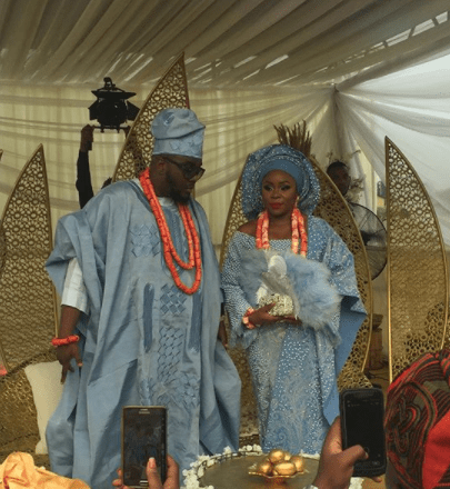 5a5b32f9095e0 - More official photos from Omawumi & Tosin Yusuf's traditional wedding in Warri