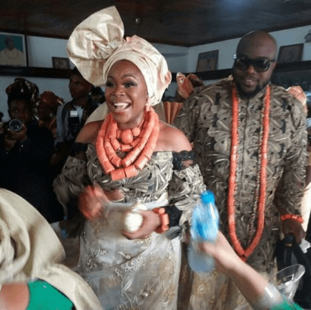 5a5b330aac656 - More official photos from Omawumi & Tosin Yusuf's traditional wedding in Warri