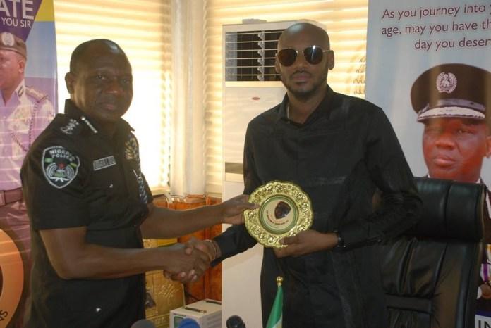 Benue killings, 2face Idibia visits IGP, Idris Ibrahim
