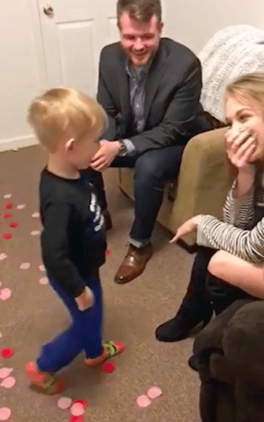 """But I want to marry mummy!"" Adorable four-year-old boy"