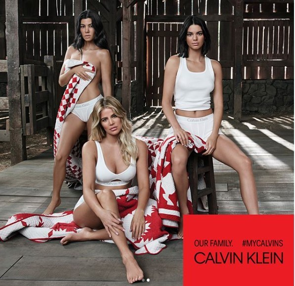 5a66abaddfc0a - Photos: The Kardashians finally feature Kylie Jenner in their Calvin Klein ad campaign