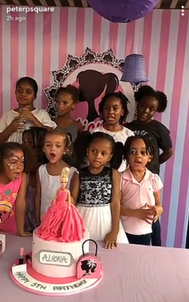 5a66bfb8d10f9 - Photos from the 5th birthday party of Peter and Lola Okoye's daughter, Aliona