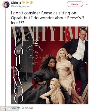 Photoshop fail: Vanity Fair photoshops Oprah with three hands and Reese Witherspoon with three legs