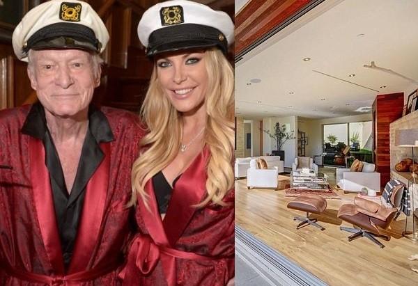 Playboy founder Hugh Hefner