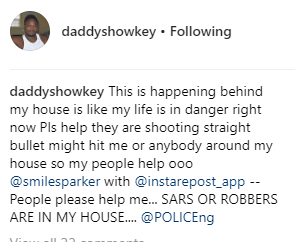Daddy Showkey reveals that the men who tried to barge into a man