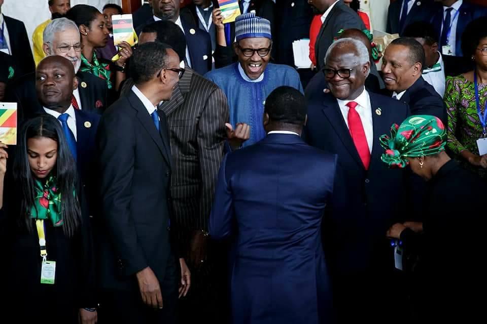 Image result for Obasanjo at AU