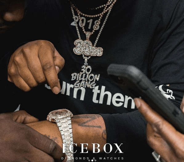 Davido shows off his new $200k 2018 Bentley Bentayga and luxury Icebox wristwatch worth millions of Naira!