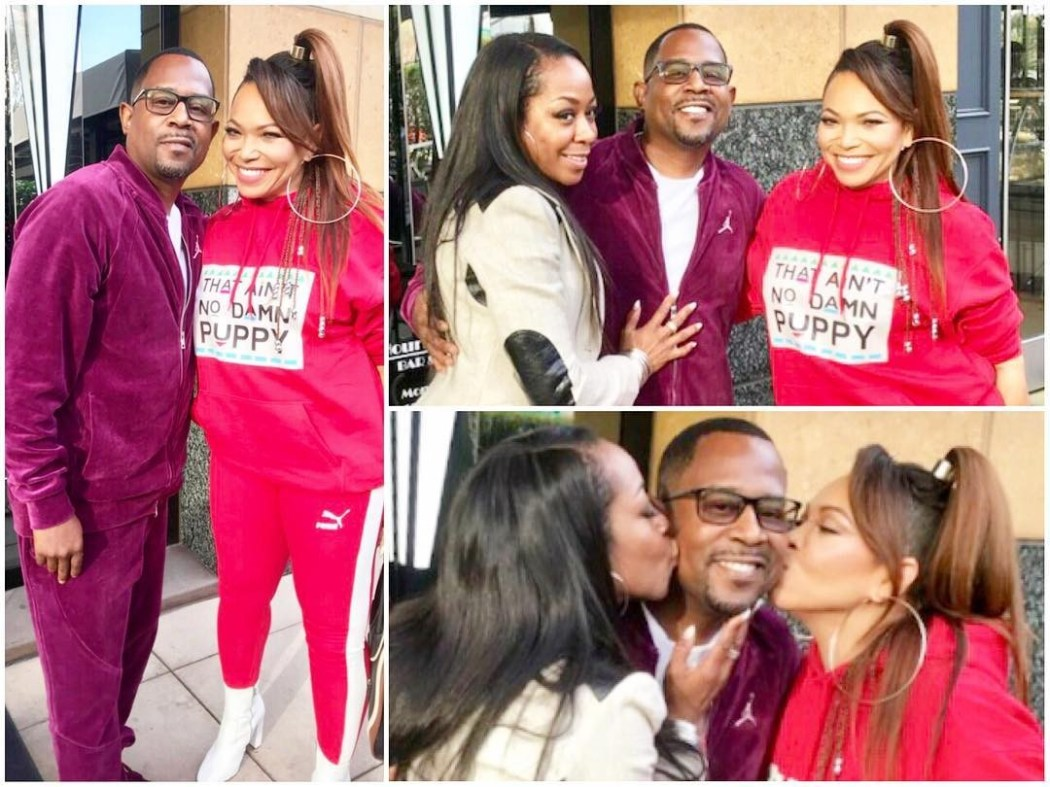 Martin Lawrence and Tisha Campbell kiss and make up 20 years after s*xual harrassment allegations