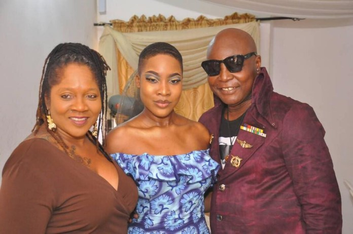 Photos from the court wedding of Charly Boy