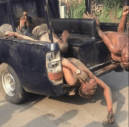 Four armed robbers gunned during exchange of gunfire with police in Delta