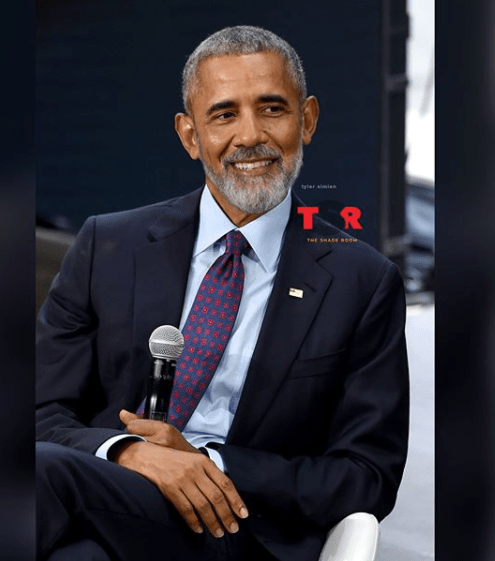 This photo of President Obama joining the