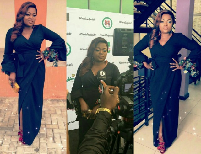 Funke Akindele-Bello steps out in style for Omotola