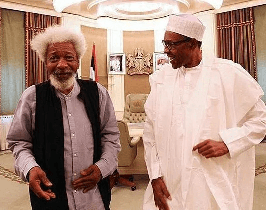 Presidency reacts to Wole Soyinka?s comments about President Buhari being in a