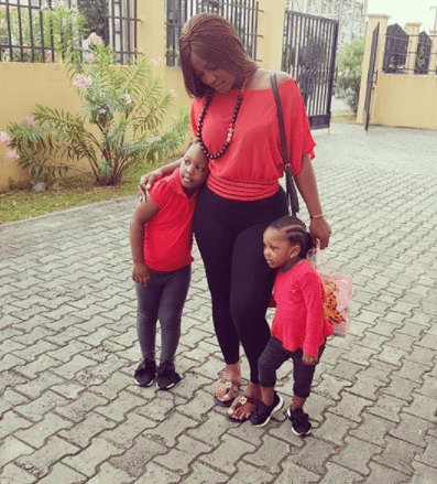 5a841a286d306 - Singer, Timaya's babymama, Barbara and their daughters step out in matching outfit(photos)